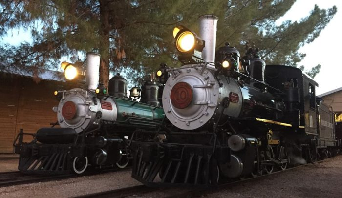 Letu0027s Start With The Trains! These Are Two Of The Historic Steam Engines You  Can Find In The Park But Youu0027ll Also Get To Find An Old Pullman Car And ...
