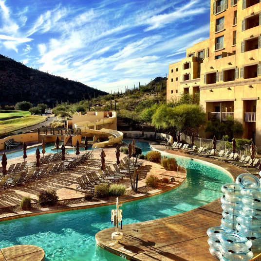 Resort Hotels In Tucson: 7 Incredible Lazy Rivers For Tubing In Arizona