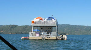 These Floating Campsites In Northern California Are The Ultimate Place To Stay Overnight This Summer