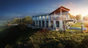 The Incredible New Restaurant That Sits High Above A California Zoo