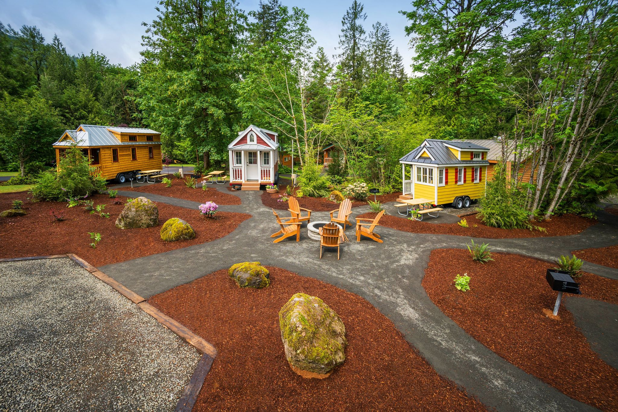 the tiny house village hotel hiding in the mt hood forest northern virginia homes for rent northern virginia homeschool athletic association