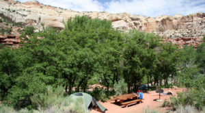 This Amazing Utah Campground Is The Perfect Place To Pitch Your Tent