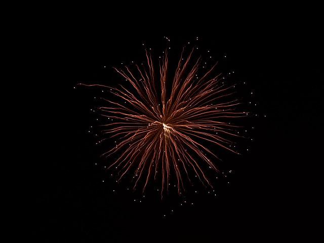Oakland Beach Rhode Island Fireworks
