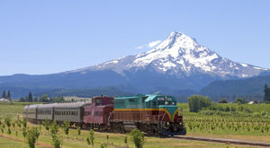 You'll Absolutely Love A Ride On This Majestic Mountain Train Near Portland This Summer