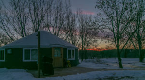 This Amazing Luxury 'Glampground' In North Dakota Will Blow Your Mind