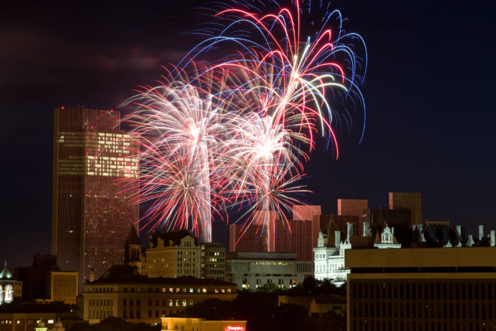 The Best 4th Of July Fireworks Shows In New York In 2017
