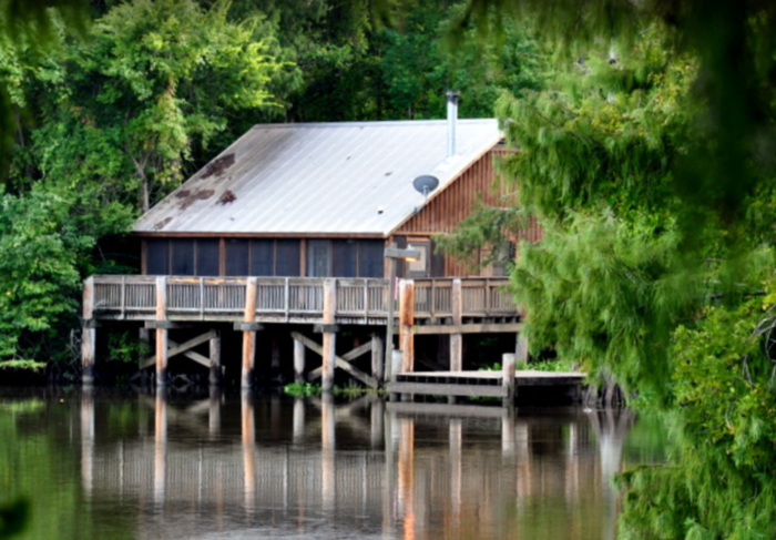 Lake fausse is the best lake near new orleans for a summer for Lake fausse pointe cabins