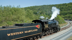 You'll Absolutely Love A Ride On This Majestic Mountain Train In Maryland This Summer