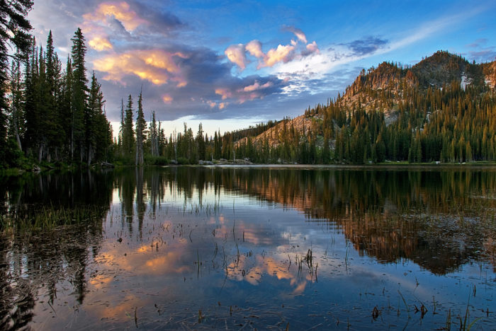 Blue Lake, Cascade, Idaho