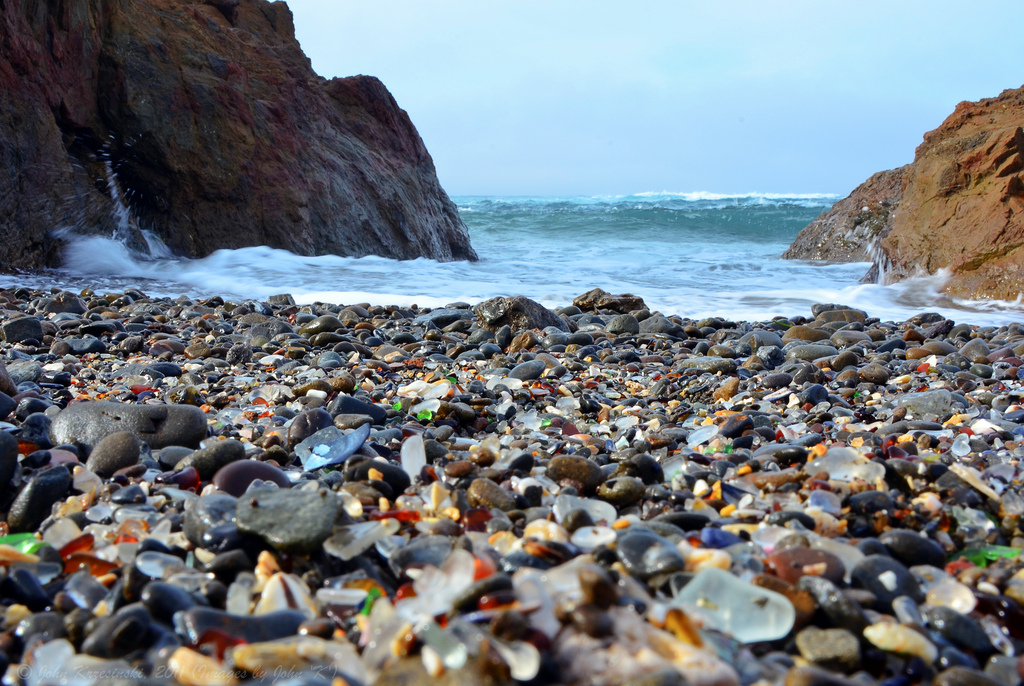 Glass Beach Is The Northern California Beach That Is