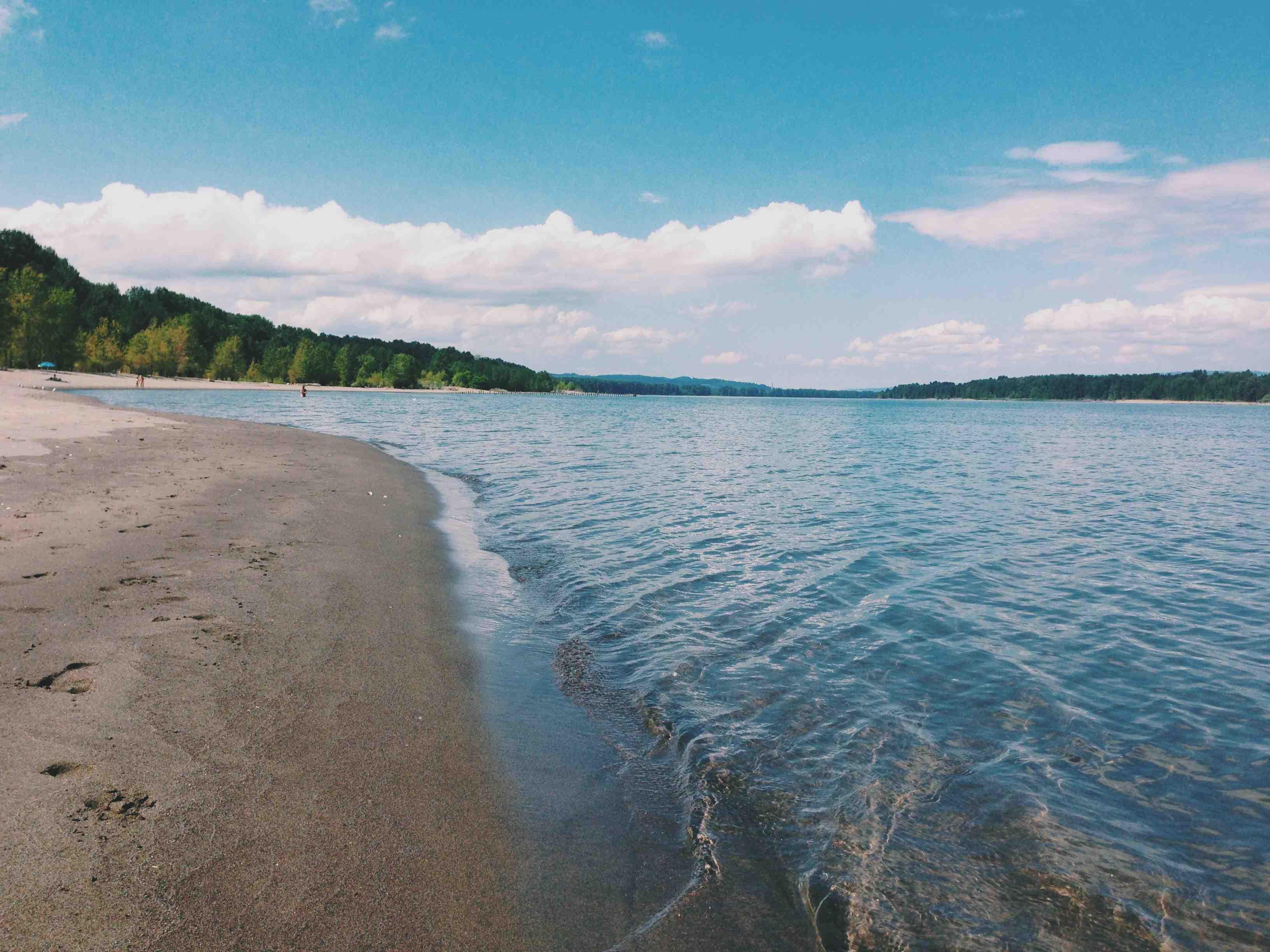 NUDE BEACH ON LAKE MICHIGAN — Rinker Boat Company