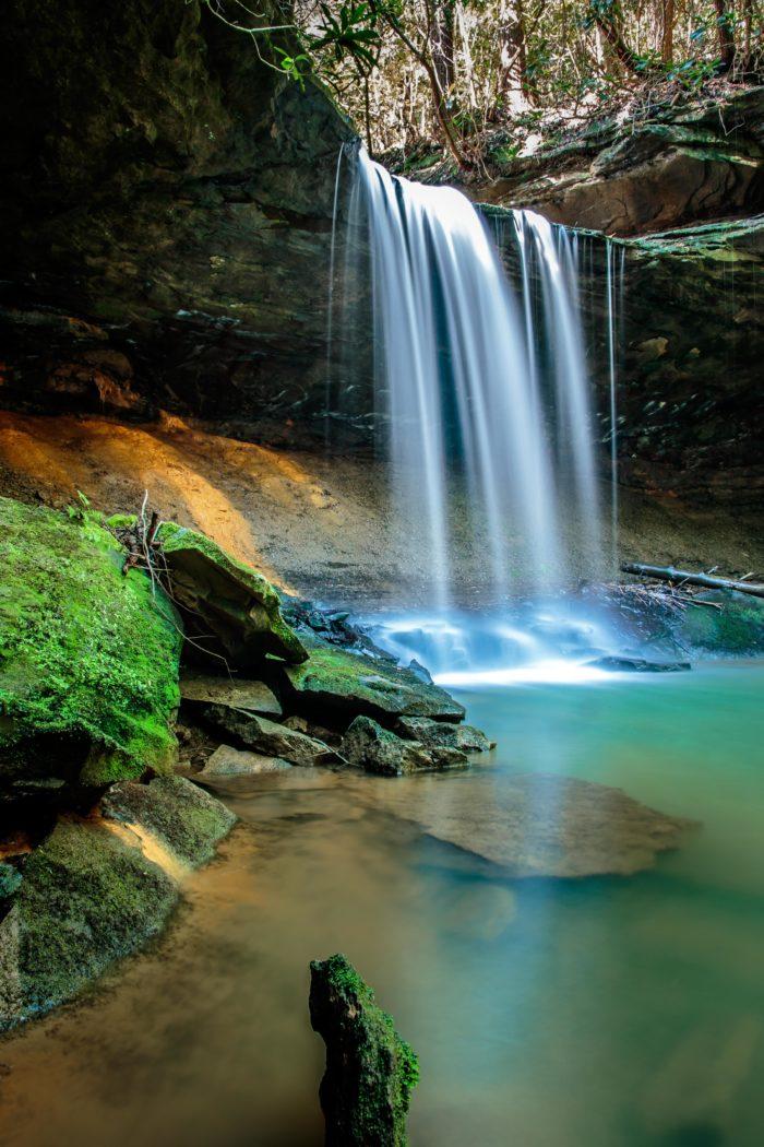 Amos Falls, Whitley City, Kentucky