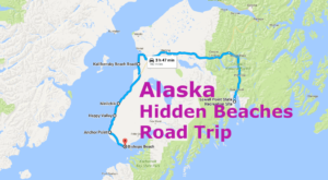 The Hidden Beaches Road Trip That Will Show You Alaska Like Never Before