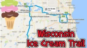 This Mouthwatering Ice Cream Trail In Wisconsin Is All You've Ever Dreamed Of And More