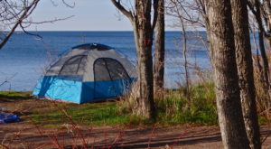 The Spectacular Spot In Minnesota Where You Can Camp Right On The Beach