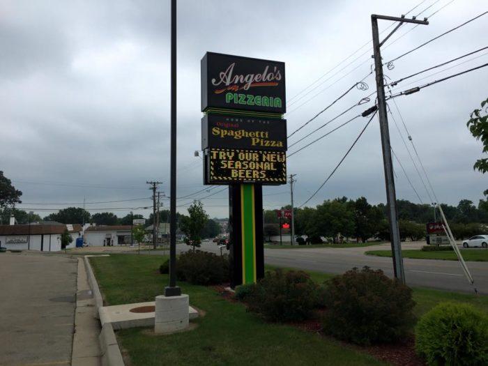 Photo of Angelo's Pizzeria - Rock Falls, IL, United States. The original  Rock