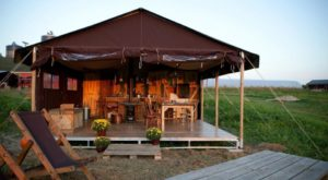 This Amazing, Luxury 'Glampground' In Illinois Will Blow Your Mind