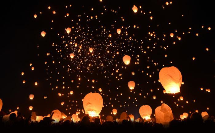 Sky Lanterns For Sale >> Lights Fest: New York's Gorgeous Lantern Festival