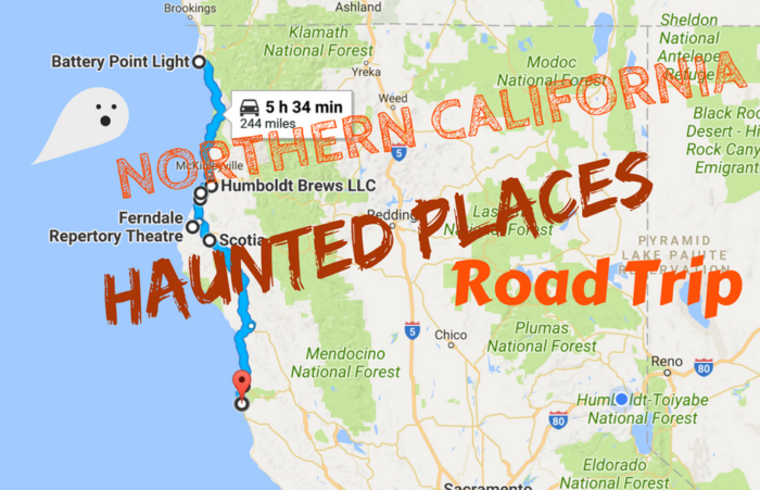 Take This Road Trip To See 9 Of The Scariest Places In Northern