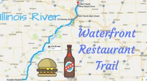 There's A Trail of Waterfront Restaurants Along The Illinois River You Need To Take