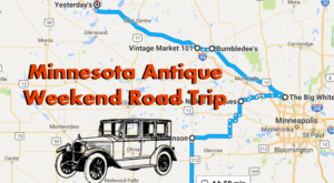Here's The Perfect Weekend Itinerary If You Love Exploring Minnesota's Best Antique Stores