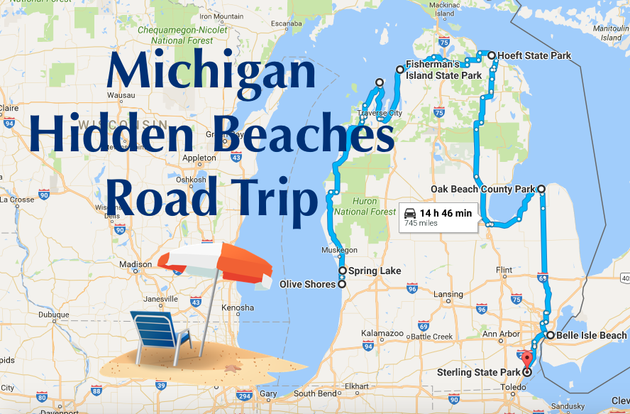 This Road Trip Will Show You Michigan S Best Hidden Beaches