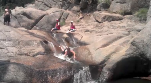 A Ride Down This Epic Natural Waterslide Near Denver Will Make Your Summer Complete