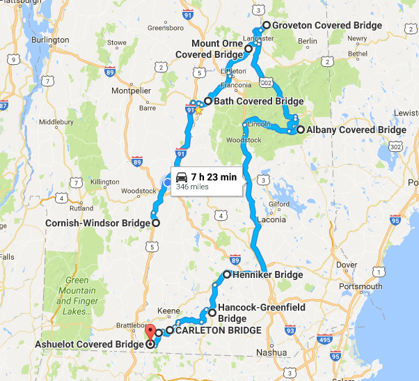 This Tour Of New Hampshire S Covered Bridges Will Charm You