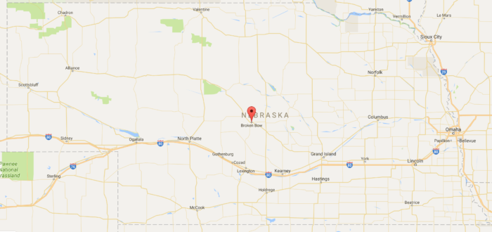 Broken Bow Is The Middle Of Nowhere Town Worth Visiting In Nebraska - Map of nebraska towns