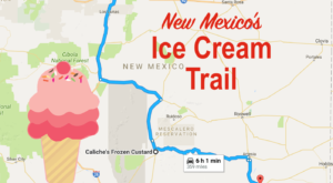 This Mouthwatering Ice Cream Trail In New Mexico Is All You've Ever Dreamed Of And More