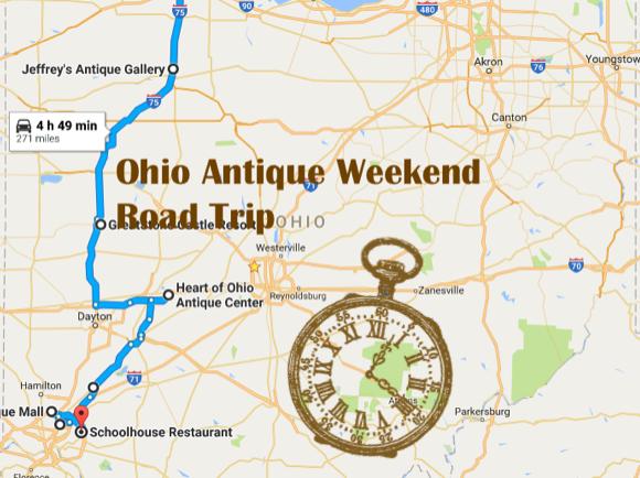 Ohio S Best Antique Stores Ohio Antique Weekend Road Trip