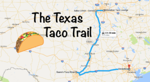 Your Taste Buds Will Go Crazy For This Amazing Taco Trail In Texas