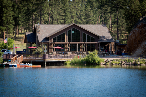 Legion lake resort a pretty getaway in custer state park for Cabins near custer sd