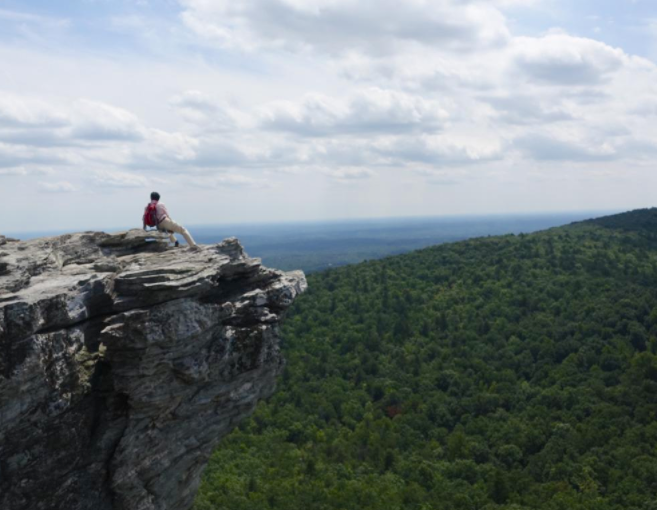 Hanging Rock State Park is one of North Carolinau0027s most beautiful places. Youu0027ll find it in the northern part of the state near Danbury. & Hanging Rock State Park In North Carolina Is The Perfect Place To ...