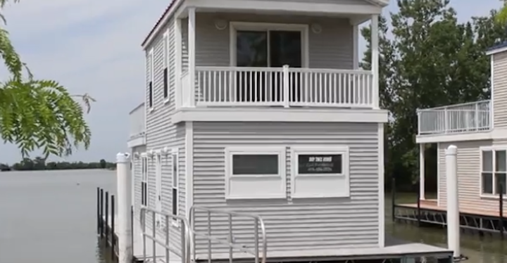 Floating Cabins In Ohio Lake Erie Vacation Rentals