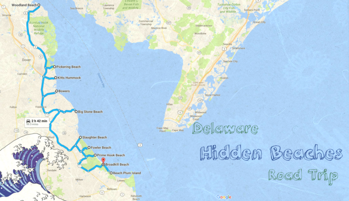 Take This Road Trip To 10 Hidden Beaches In Delaware