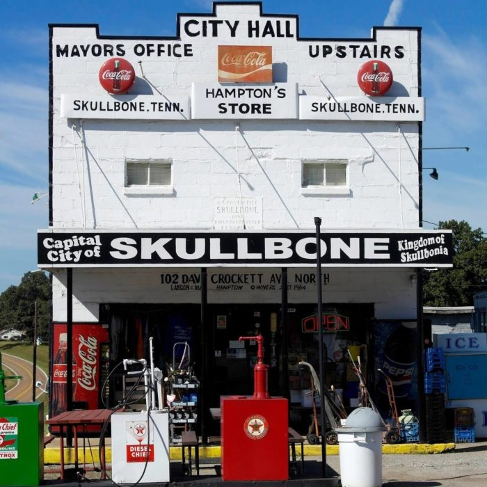 Northwest Credit Union >> Skullbone Is The Quirkiest Little Town In Tennessee