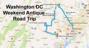 Here's The Perfect Weekend Itinerary If You Love Exploring Washington DC's Best Antique Stores