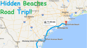 The Hidden Beaches Road Trip That Will Show You Texas Like Never Before