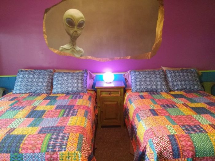 And Given Corona S Ties To The Roswell Incident It Should Come As No Surprise That Motel Boasts An Alien Themed Room