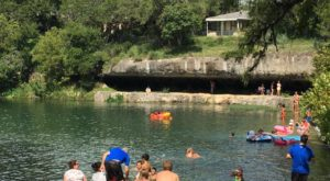 The Little-Known Texas Swimming Hole You're Sure To Fall In Love With