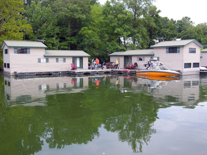 Patoka Lake Marina And Lodging Has The Best Floating