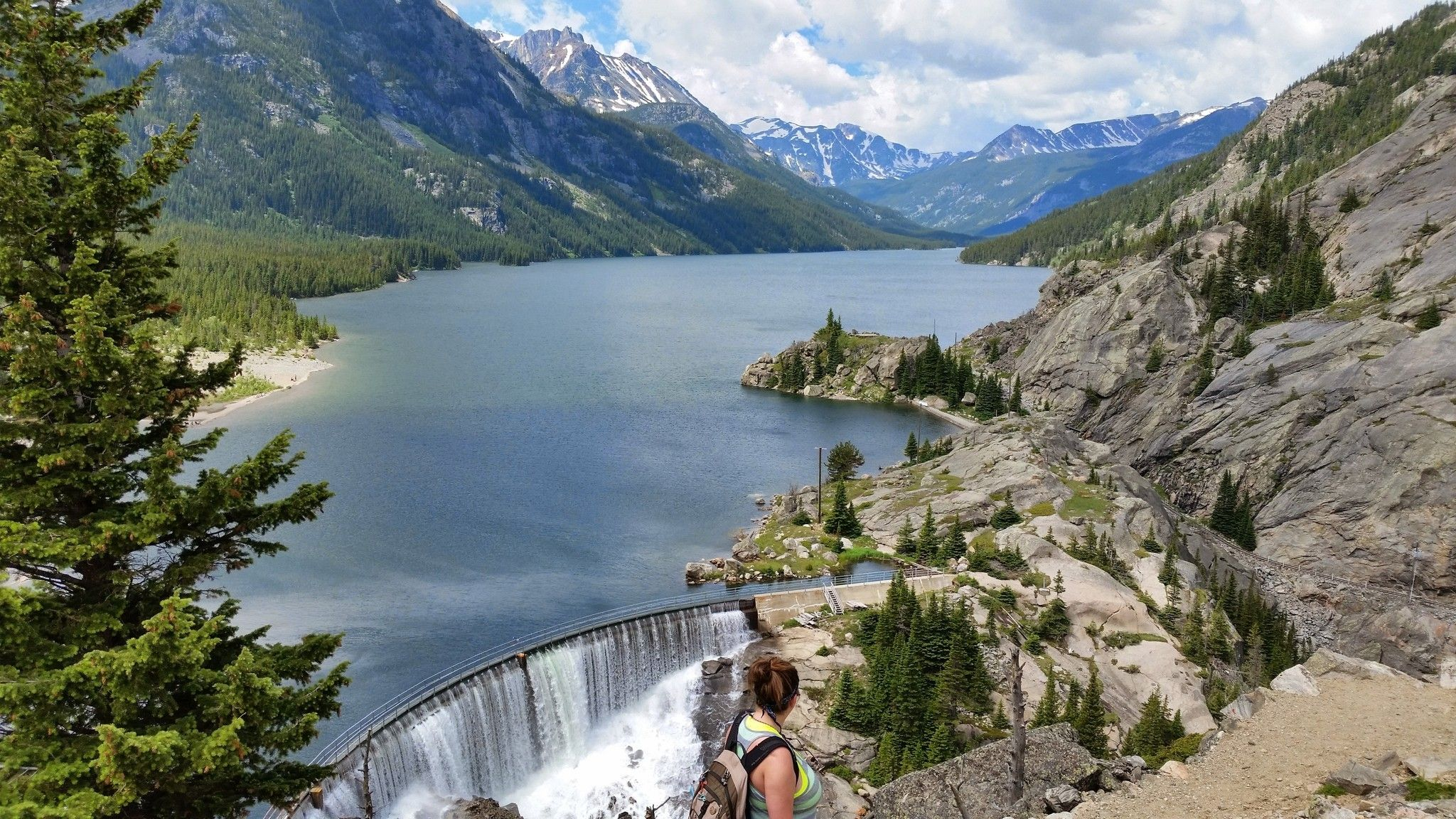 Jeep Columbus Ohio >> Mystic Lake In Montana Is Perfect For A Summer Day