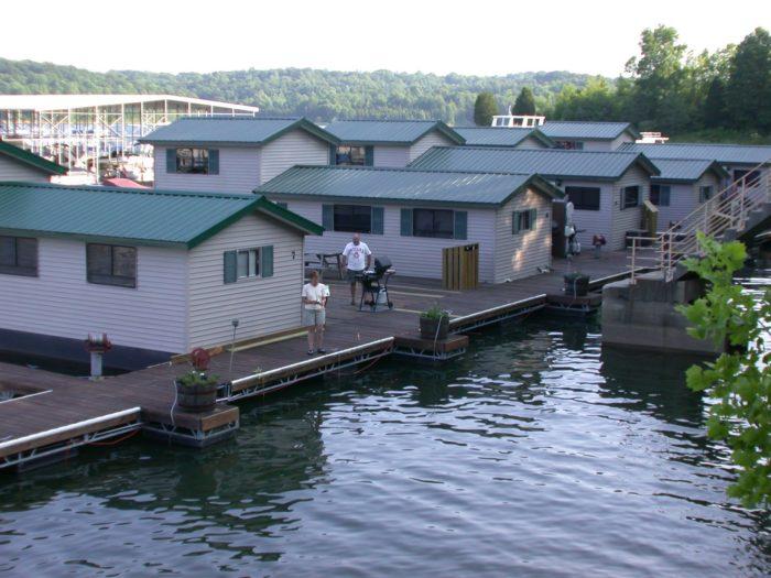 Patoka Lake Marina And Lodging Has The Best Floating