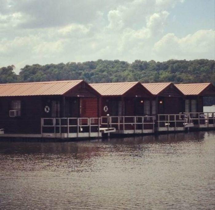 Floating Cabins On Lake Guntersville Unique Overnight