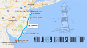 The Lighthouse Road Trip On The New Jersey Coast That's Dreamily Beautiful