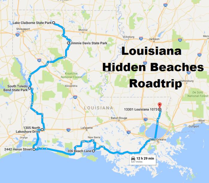 The Hidden Beaches Road Trip That Will Show You Louisiana Like