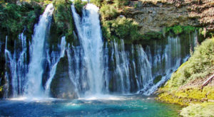 The Jaw Dropping Waterfall That Is Unlike Anything Else In Northern California