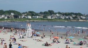 The Rhode Island Beach That's Unlike Any Other In The World
