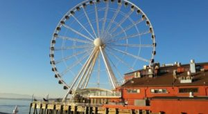 The Amazing Glass-Bottomed Ferris Wheel In Washington Will Bring Out The Adventurer In You